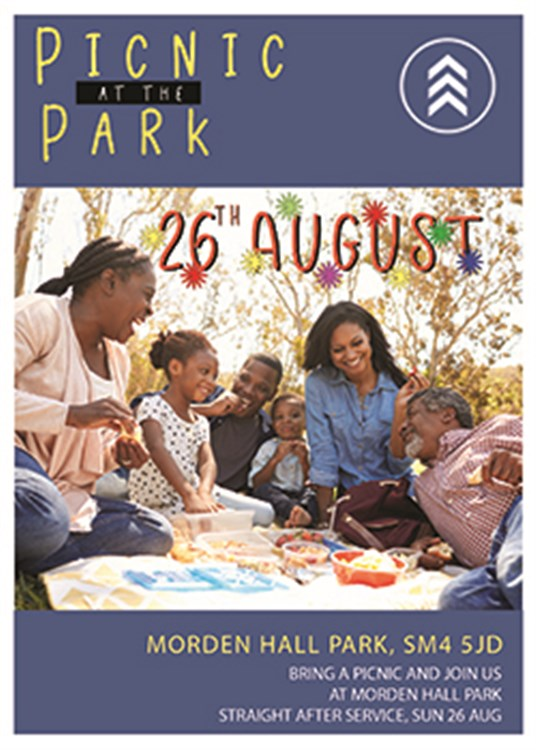 Flyer Picnic at the Park 250X3
